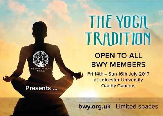 The BWY Summer School presents YOGA TRADITION