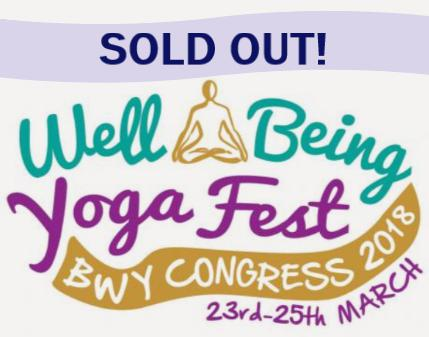 Yoga Fest is now fully SOLD OUT with no further places available.
